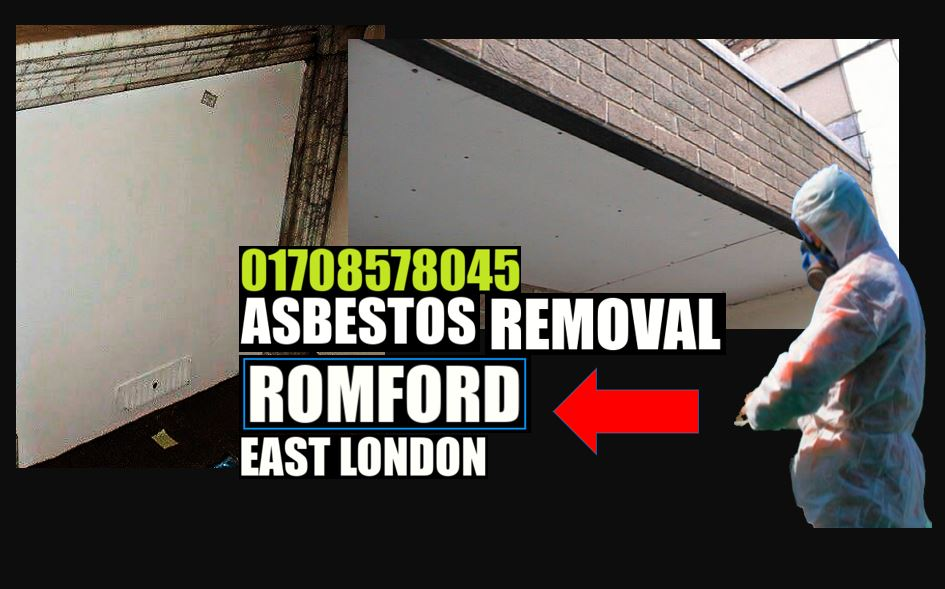 asbestos AIB removal Romford East London 01708578045 asbestos insulation board removal