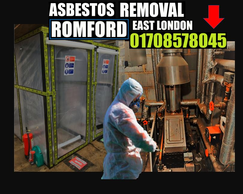 asbestos corrugated roof removal Romford East London 01708578045
