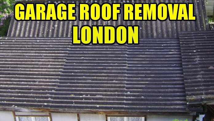 asbestos garage roof removal Merton south london 020808802920P